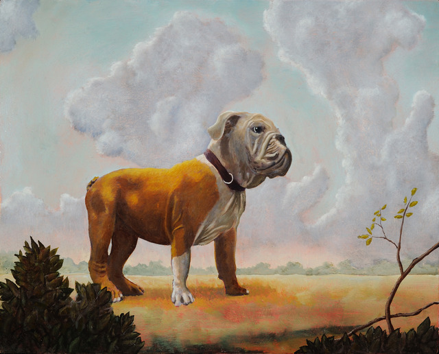 , 'Landscape with Bull Dog,' , Zenith Gallery