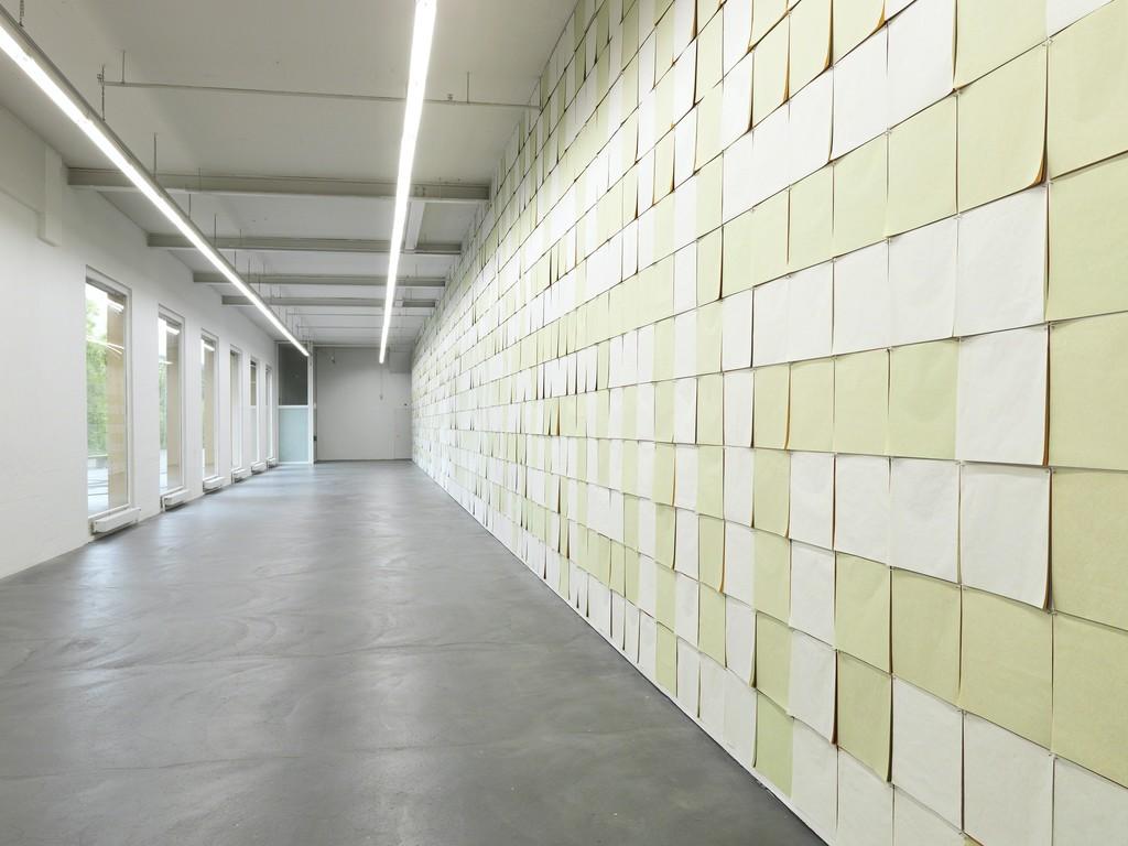 Katharina Hinsberg, installation view Kunsthaus Baselland, 2015 photo: Serge Hasenböhler