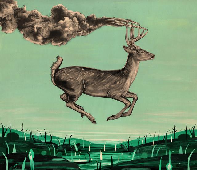 , 'Deerscape,' , Helikon Gallery & Studios