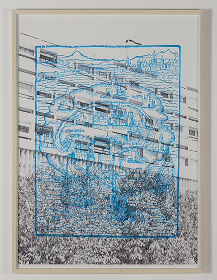 , 'Isla Utopía,' 2015, Galería Tiro Al Blanco