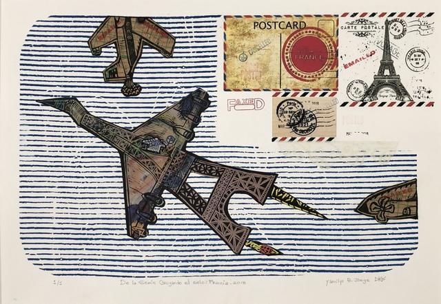 Yamilys Brito Jorge, 'De La Serie Cruzando el Cielo: Francia (Crossing the Sky: France)', 2018, Thomas Nickles Project
