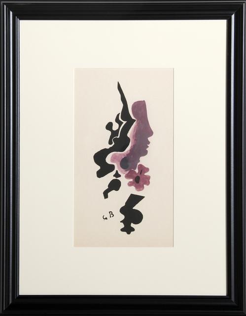 Georges Braque, 'Profile from the Espace Portfolio', 1957, Print, On Richard de Bas, RoGallery