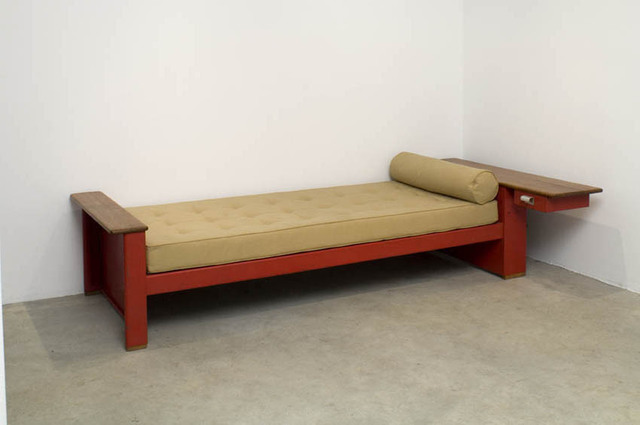 , 'Asymetric bed,' ca. 1950, Jousse Entreprise