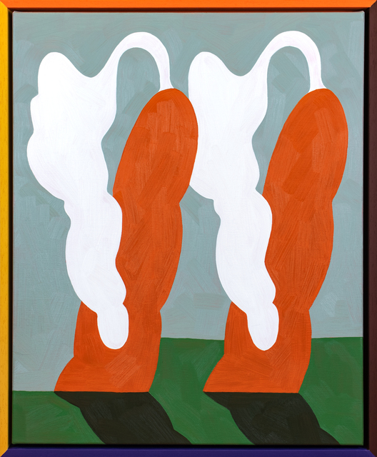 , 'Pair of Carrots,' 2018, PUBLIC Gallery