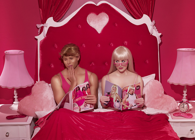 , 'Bedroom Magazines,' 2012, Madison Gallery