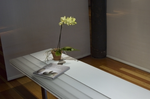 , 'Stepped Table,' 2009, Bullseye Projects