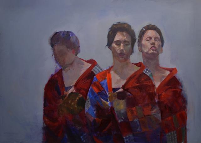 , 'Three Graces,' 2018, Gallery at Zhou B Art Center
