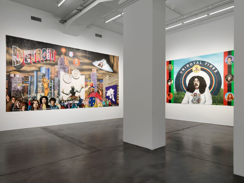 Installation view, 'Mike Kelley. God's Oasis', Hauser & Wirth Zürich 2018  © Mike Kelley Foundation for the Arts. All Rights Reserved/VAGA at ARS, NY, Courtesy the Foundation and Hauser & Wirth