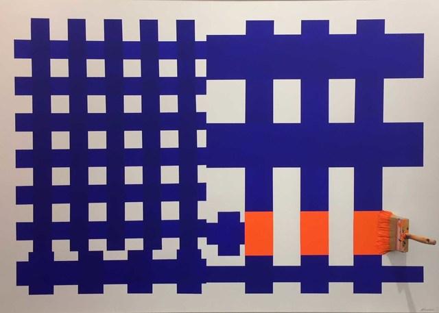, 'Brosse Arretee Orange 'Quadrillee',' , Galerie Vivendi