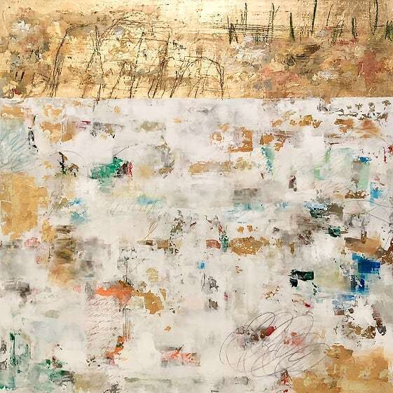 , 'Gold and Colour LII,' 2018, Fiumano Clase