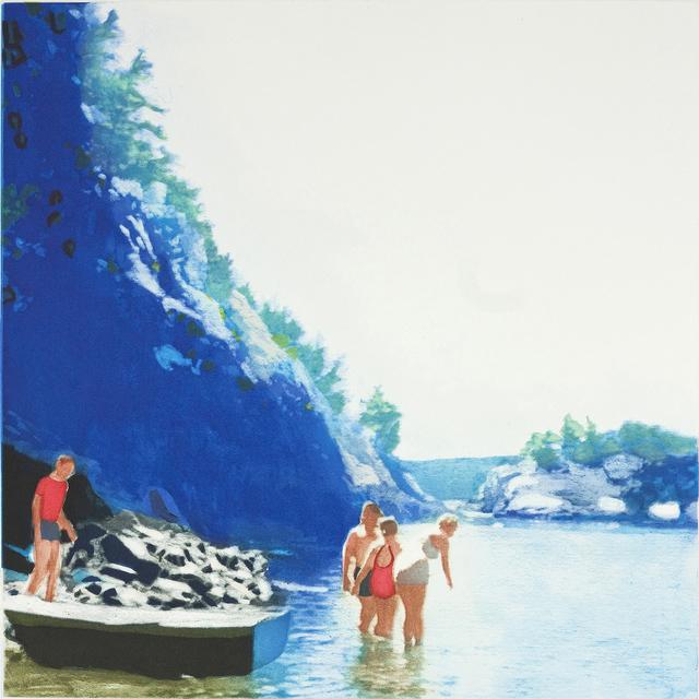 Isca Greenfield-Sanders, 'Mountain Stream', 2012, Berggruen Gallery