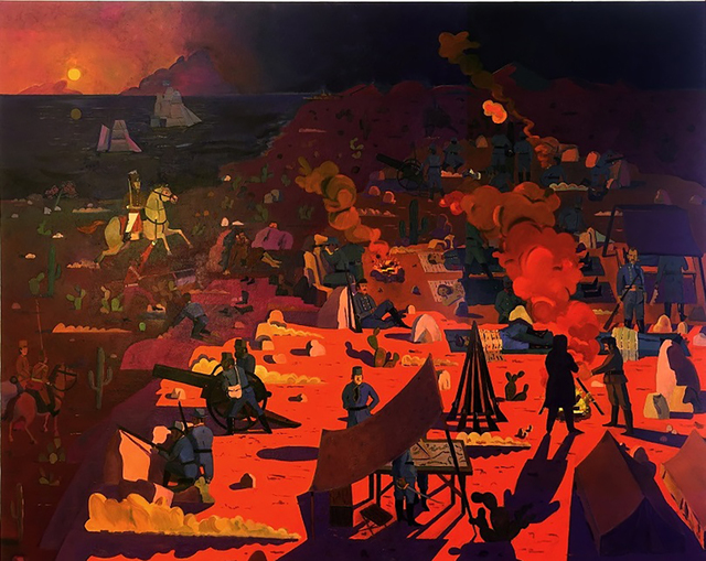 , 'Kit Carson's Escape From Mule Hill to Get Help from San Diego,' 2017, Visions West Contemporary