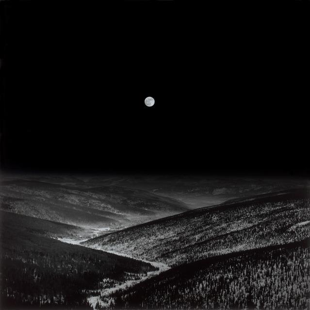 Hiroshi Watanabe, 'White Mountain, Alaska, USA', 1997, Photography, Toned silver gelatin print, Micheko Galerie