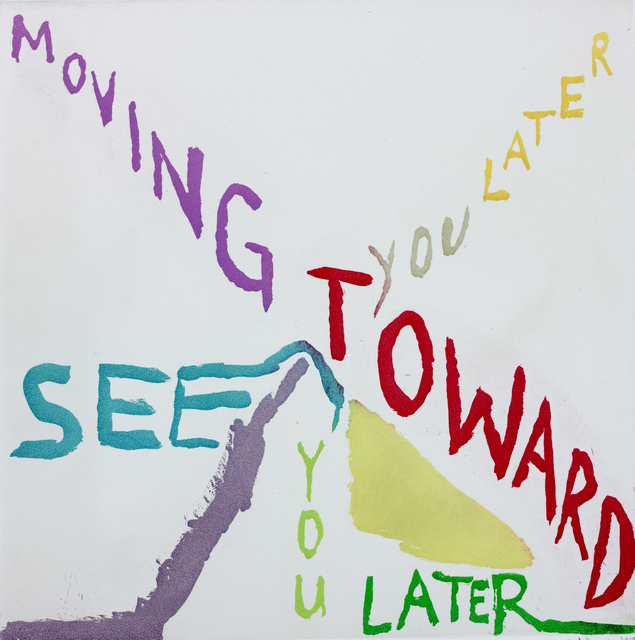 , 'MOVING TOWARD/SEE YOU LATER,' 2014, Paulson Fontaine Press
