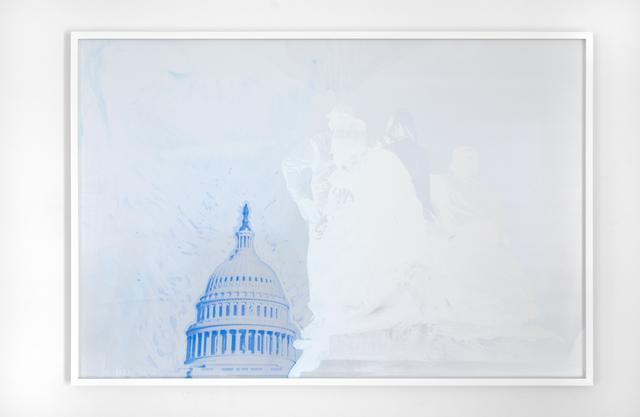 , 'One Million Second Chances (Capital Blue),' 2018, Jack Shainman Gallery