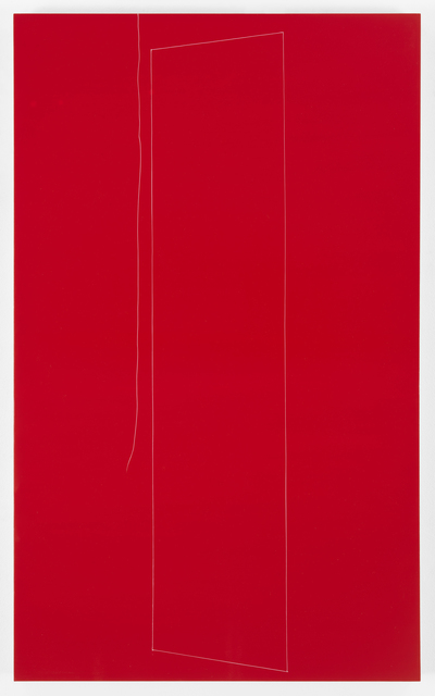 , 'Red Structure, Little Sister thread, 2,' 2016, Galerie Lelong & Co.