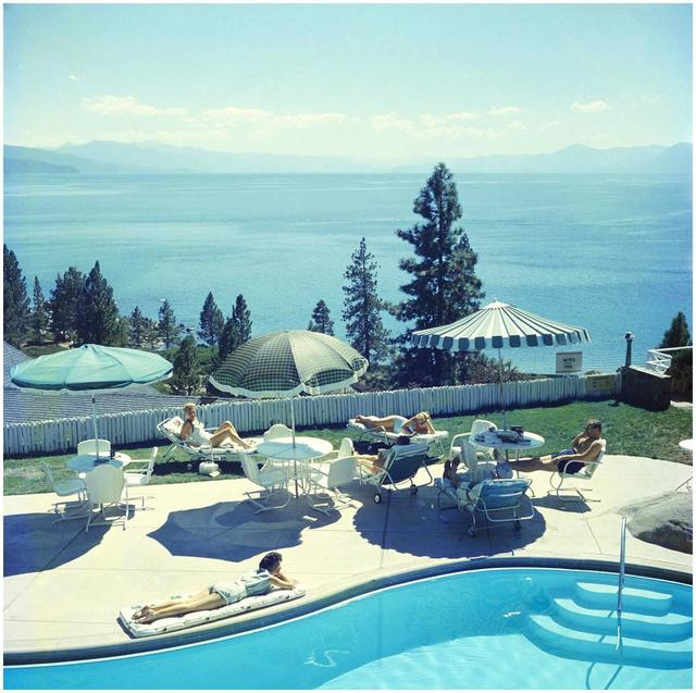 , 'Relaxing at Lake Tahoe,' 1959, Undercurrent Projects