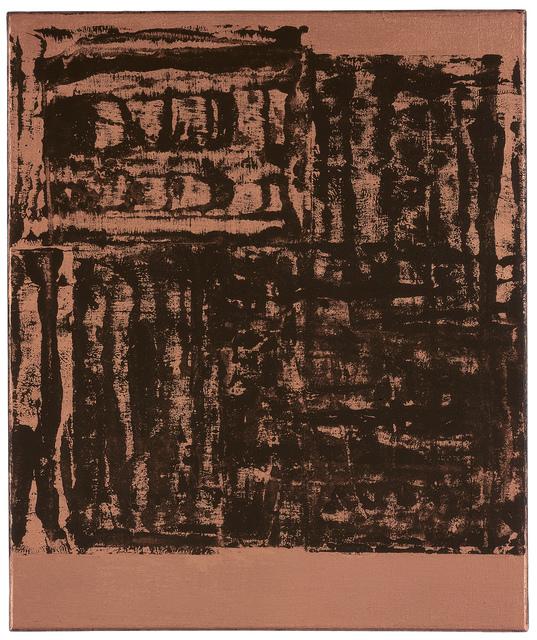 Helmut Federle, 'Für die Vögel Q', 2000, Galerie nächst St. Stephan Rosemarie Schwarzwälder