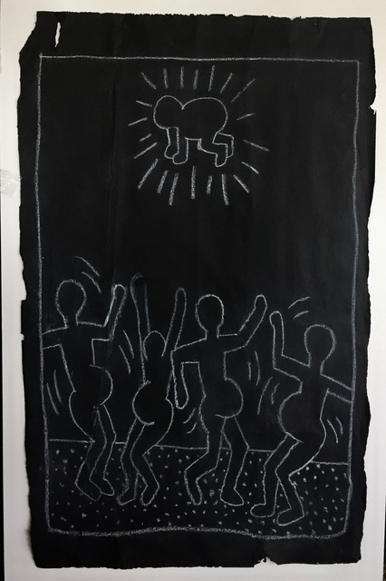 Keith Haring, 'DANCING PREGNANT WOMEN', 1982-83, Equal Means Equal: Benefit Auction 2019