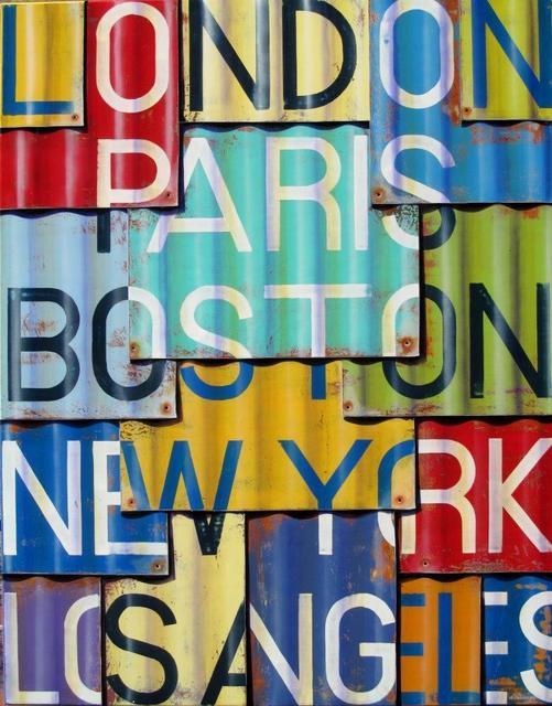 , 'London LA,' 2015, Artspace Warehouse
