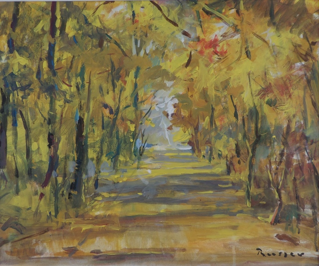 , 'Autumn In The Park,' 2017, Snow Pearl Art Gallery