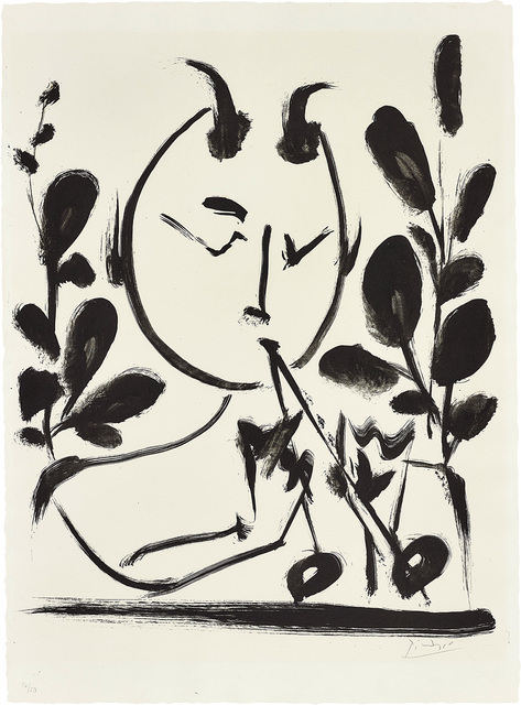 Pablo Picasso, 'Faune aux branchages (Faun with Branches)', 1948, Phillips