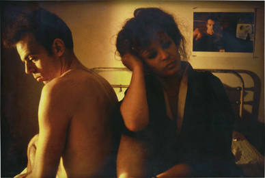 Nan Goldin, 'Self Portrait in Kimono with Brian, NYC,' 1983, Phillips: New Now (December 2016)