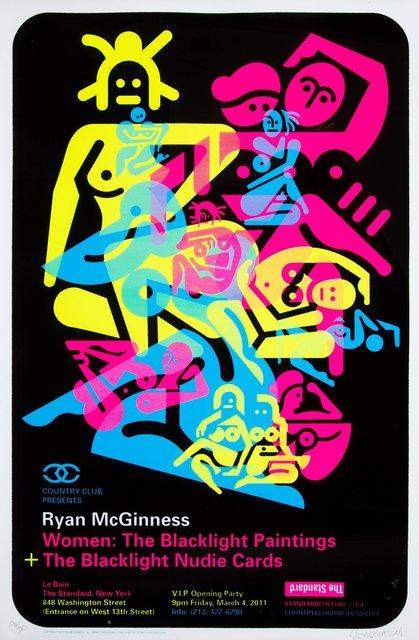 Ryan McGinness, 'Women: The Blacklight Paintings (three works)', 2010-11, Heritage Auctions