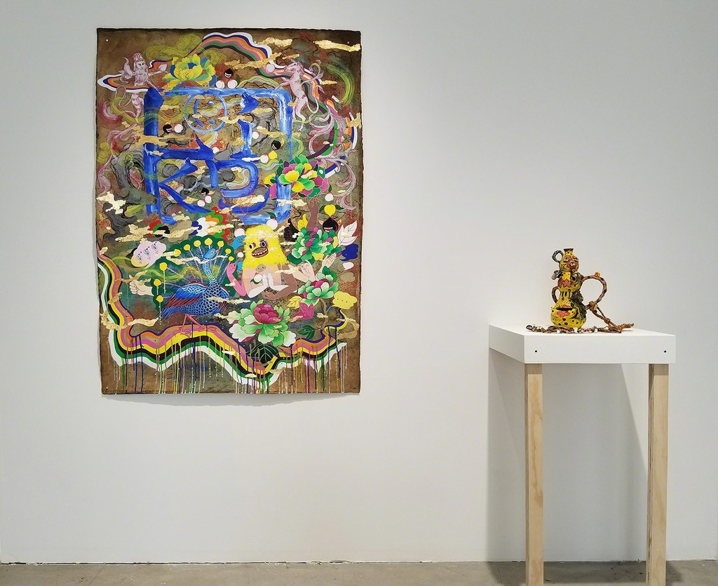 Jiha Moon Familiar Face 2018 Installation View at Patricia Sweetow Gallery