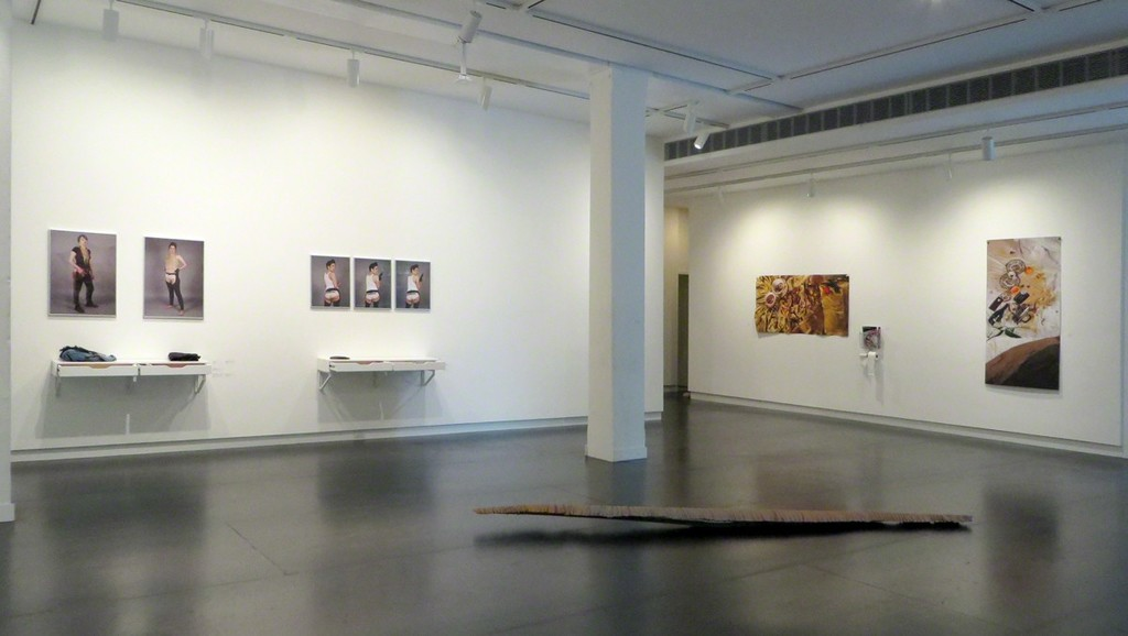 Installation by Brittany Britton, photos by Jason Horvath, floor sculpture by Colin Kippen.