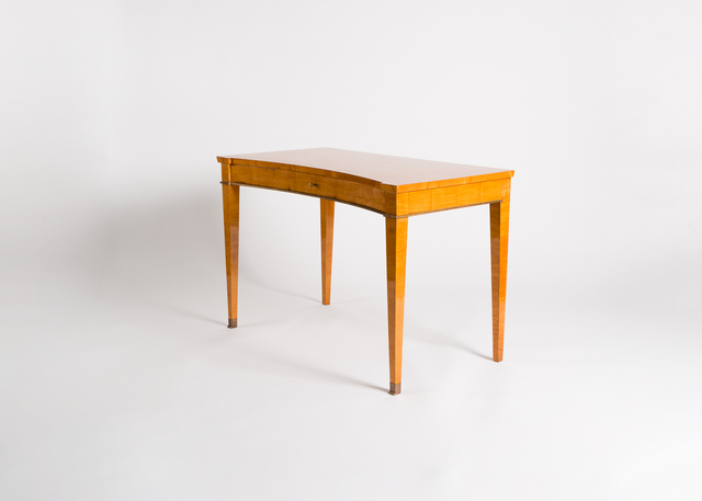 Jacques Quinet, 'Writing Table', ca. 1940, Design/Decorative Art, Maple, gilt bronze, Maison Gerard
