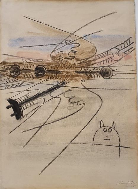 , 'COMPOSITION,' 1962, Studio Guastalla