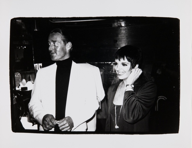 Andy Warhol, 'Andy Warhol, Photograph of Halston and Liza Minnelli, 1979', 1979, Hedges Projects