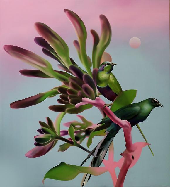 , 'Glossy Starlings,' 2017, Victor Lope Arte Contemporaneo