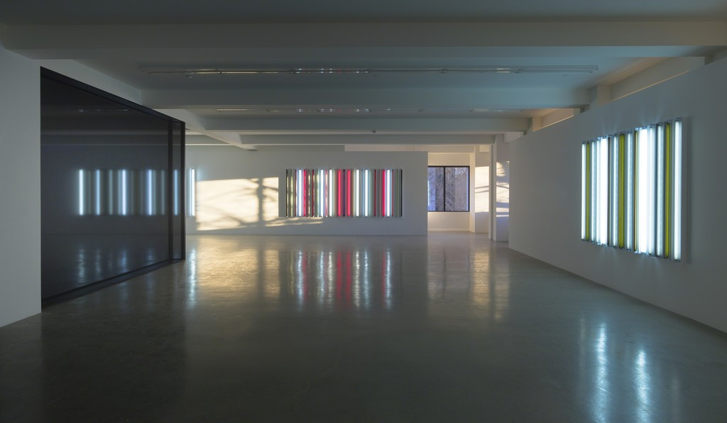 Robert Irwin, Installation view, Sprüth Magers, Los Angeles, January 23 - April 21, 2018; Courtesy the artist and Sprüth Magers; Photography by Robert Wedemeyer