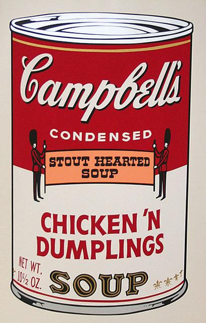 Andy Warhol, 'Campbell's Soup II, II.58 Chicken 'N Dumplings      ', 1969, Elizabeth Clement Fine Art