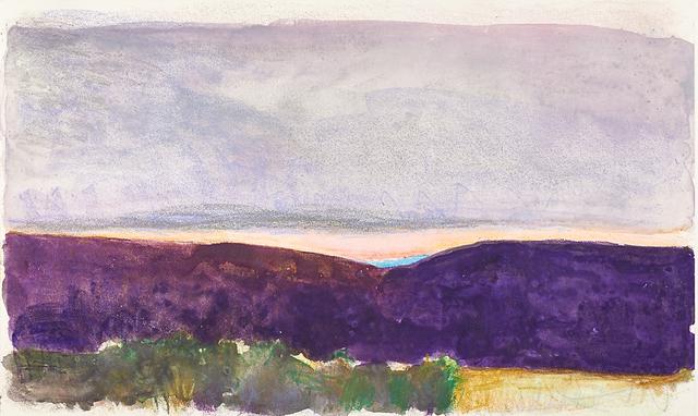 Wolf Kahn, 'Santa Fe Sunset', 1993, Rago
