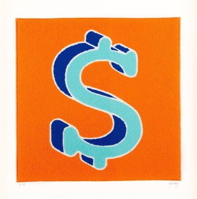 CJ Hendry, 'Dollarydoo', 2020, Textile Arts, Raw maple, cotton rag UV Plexi, Heritage Auctions