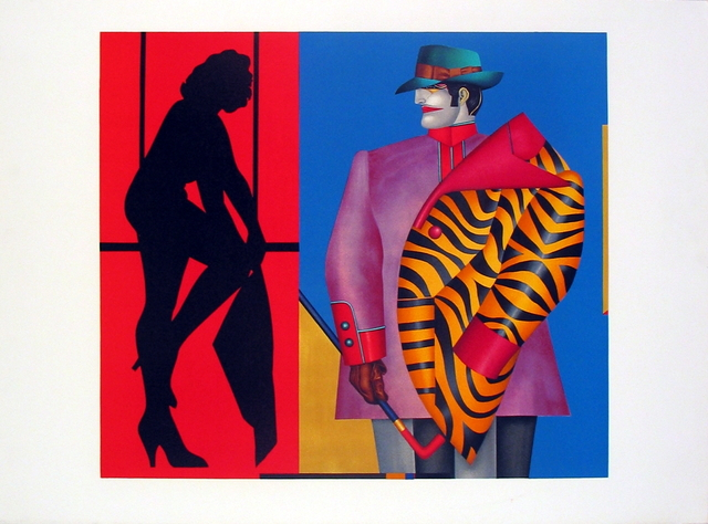 Richard Lindner, 'Purple Jacket', 1975, ArtWise