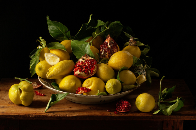 , 'Lemon and Pomegranates, after J.v.H.,' 2010, Robert Klein Gallery