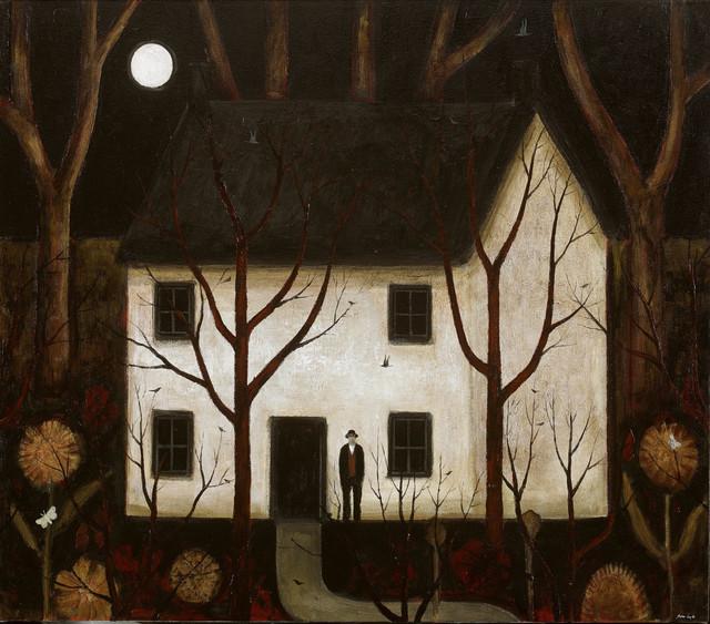 , 'Wood House,' 2017, John Martin Gallery
