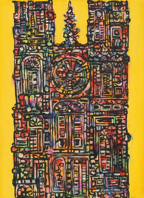 , 'Cathedral in Yellow (Catedral en Amarillo),' 1961, Cernuda Arte