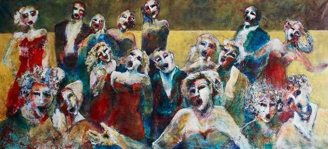 Danielle Scheffer, 'Opéra buffa', 2019, Galerie Blanche
