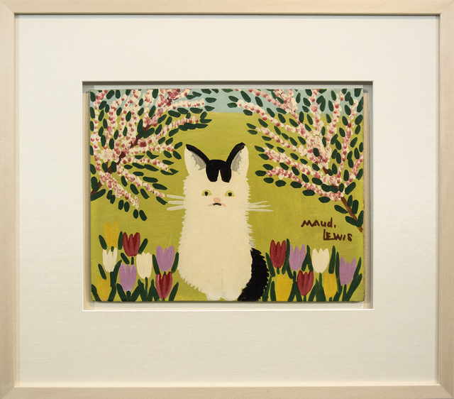 Maud Lewis, 'What Cat With Black Tail', Mid-20th Century, Oeno Gallery