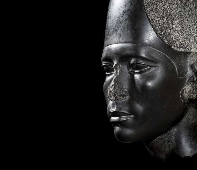 , 'Head of Amenemhat III,' 1830 BCE, Glyptoteket