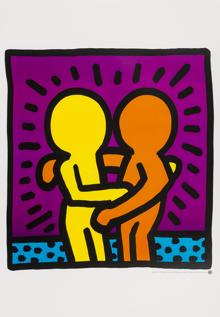 Keith Haring, 'Untitled (Best Buddies)', 1987, Forum Auctions