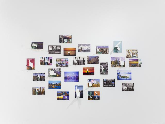 , 'Les cartes postales de la liberté,' 2018, Michel Rein Paris/Brussels