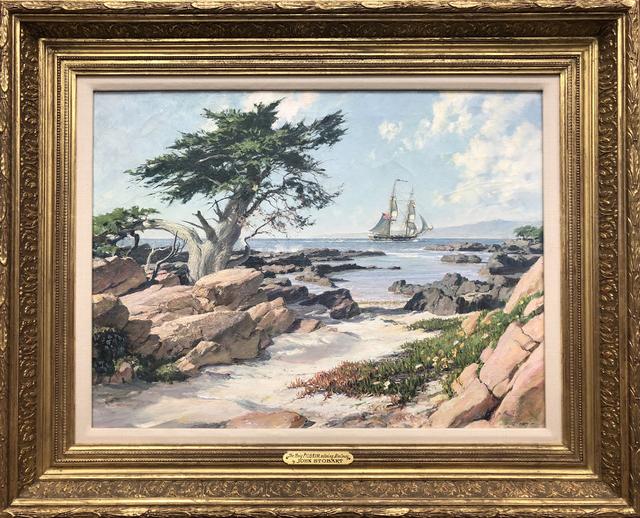 , 'The Brig Pilgrim Entering Monterey,' , Eisele Gallery of Fine Art