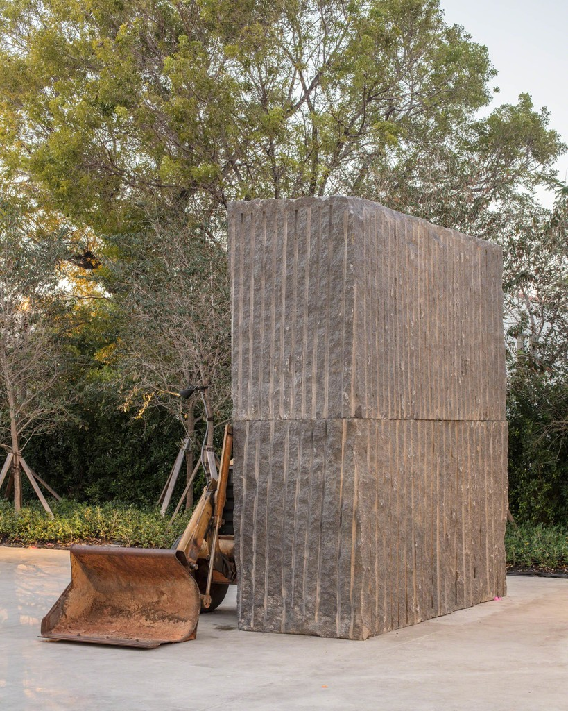 Installation view Allora & Calzadilla, Unspecified Promise, 2017 (Institute of Contemporary Art, Miami, Dec 1, 2017–Oct 27, 2019). Photo: Fredrik Nilsen Studio.