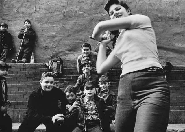 , 'Stickball Team + Girl Batter,' 1954-1955, HackelBury Fine Art